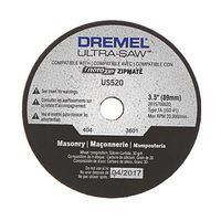 Dremel Masonry Cutting Wheel Rotary Power Tool Cut Off Wheel #us520-01