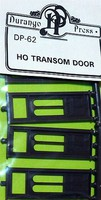 Durango HO Door with Transcom Window