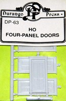 Durango HO Four Panel Door