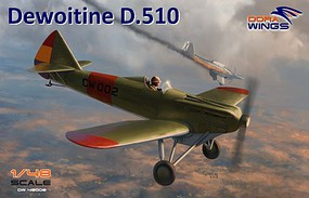 Dora 1/48 Dewoitine D510 Spanish Civil War Monoplane Fighter (New Tool)
