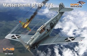Dora Messerschmitt Bf109A/B Legion Condor Aircraft Plastic Model Airplane Kit 1/48 Scale #48009
