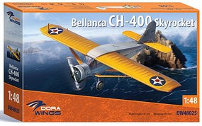 Dora 1/48 Bellanca CH400 Skyrocket Aircraft (New Tool) (NOV)