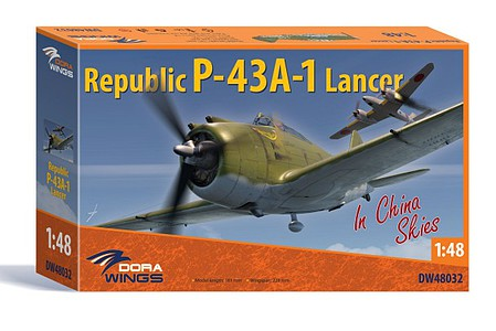 Dora 1/48 Republic P43A1 Lancer Aircraft