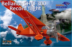 Dora Bellanca CH/J300 Record Flight Aircraft Plastic Model Airplane Kit 1/72 Scale #72001