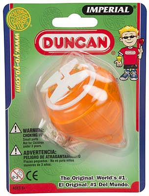 Duncan Toys Imperial Spin Top -- Activity Skill Game -- #3312mc