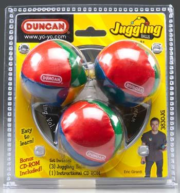 Duncan Toys Juggling Balls (3) -- Novelty Toy -- #3830jg
