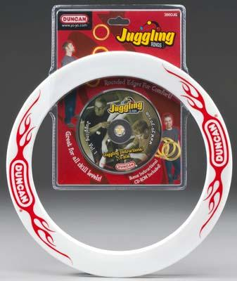 Duncan Toys Juggling Rings w/CD-ROM (3) -- Novelty Toy -- #3860jg