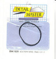 Detail-Master 3ft. Ignition Wire Grey Plastic Model Vehicle Accessory Kit 1/24-1/25 Scale #1022