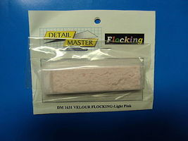 Detail-Master Velour Flocking Pink Plastic Model Vehicle Accessory Kit 1/24-1/25 Scale #1631
