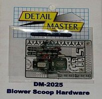 Detail-Master Blower Scoop Hardware Kit Plastic Model Vehicle Accessory Kit 1/24 Scale #2025