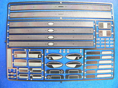 DOOR HANDLES /& LOCKS 1:24 1:25 DETAIL MASTER CAR MODEL ACCESSORY 2560
