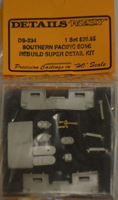 Super Detail Set for SP//SSW SD45 Details West DS-338 HO Scale