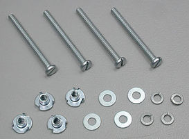 Du-bro Mount Bolt/Nuts 4-40 (4)