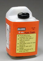 Du-bro S6 Square Fuel Tank 6 oz