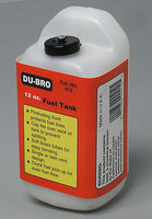 Du-bro S12 Square Fuel Tank 12 oz