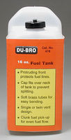Du-bro S16 Square Fuel Tank 16 oz