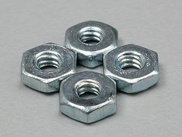 Du-bro Steel Hex Nut 2-56 (4)