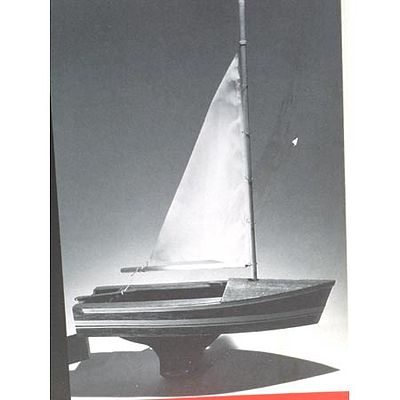 Dumas 12'' Sailboat Junior Kit -- Wooden Boat Model Kit -- #1007