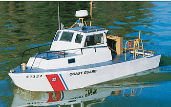 Dumas USCG 41' Utility Boat 31 Kit -- RC Wooden Scale Powered Boat Kit -- #1214