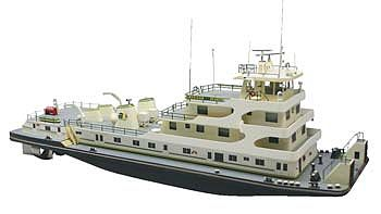 Dumas American Beauty Towboat Kit -- RC Plastic Scale Powered Boat Kit -- #1215