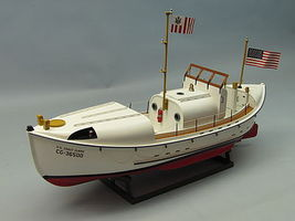 Dumas USCG 36 Motor Lifeboat RC Wooden Scale Powered Boat Kit #1258