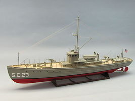 Dumas SC-1 Class Sub Chaser RC Wooden Scale Powered Boat Kit #1259