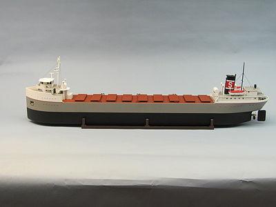 Great Lakes Freighter Kit Dum1264 Dumas Rc Wooden Boat