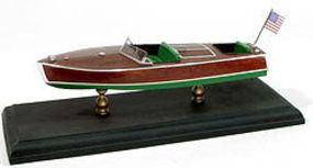 1949 19 Racing Runabout Kit Wooden Boat Model Kit #1702