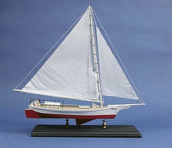 Dumas Skipjack Sailboat Kit -- Wooden Boat Model Kit -- #1704