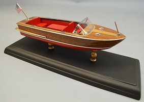 Dumas 9 1960 Chris Craft 18 Continental Boat Laser Cut Kit (1/24)