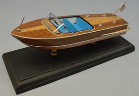 Dumas 10.5 1956 Chris Craft 21 Capri Boat Laser Cut Kit (1/24)