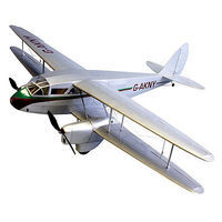 Dumas 42 Wingspan DH89 Dragon Rapide Wooden Aircraft Kit (suitable for elec R/C)