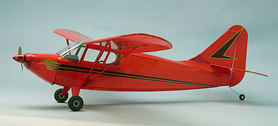 Dumas 40'' Wingspan Stinson Voyager Wooden Aircraft Kit (suitable for elec R/C)