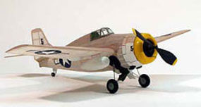 Dumas F-4F Wildcat,17.5'' Rubber Power