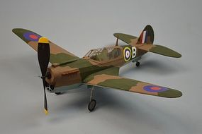 Dumas 18 Wingspan P40 Kittyhawk Rubber Pwd Aircraft Laser Cut Kit