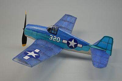 18 Wingspan F6f Hellcat Rubber Pwd Aircraft Laser Cut