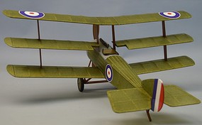 Dumas 18 Wingspan Sopwith Rubber Pwd Aircraft Laser Cut Kit