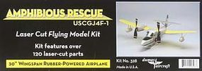 Dumas 30 Wingspan J4F1 Amphibious Rescue Rubber Pwd Aircraft Laser Cut Kit