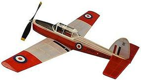 Dumas 30 Wingspan DeHavilland Chipmunk Rubber Pwd Aircraft Laser Cut Kit
