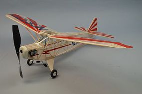 Dumas 30 Wingspan Piper Clip Wing Cub Rubber Pwd Aircraft Laser Cut Kit
