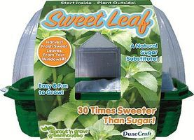 Dunecraft Sweet Leaf Sprout n Grow Greenhouse Kit