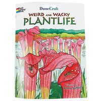 Dunecraft Weird and Wacky Plantlife Coloring Book