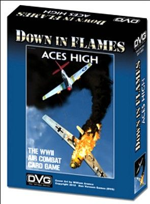 Dan Verssen Games Down in Flames WWII Aces High Warfare Game