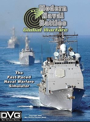 Dan Verssen Games Modern Naval Battles Global Warfare Game
