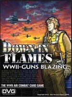 DVG Down in Flames WWII Guns Blazing Warfare Game