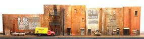 Downtown-Deco Factory Flat Kit HO Scale Model Railroad Building #1056