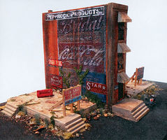 Downtown-Deco The Worst Building in Town Kit HO Scale Model Railroad Building #1060