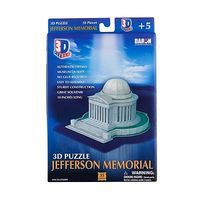 Daron Jefferson Memorial 3D 35pcs 3D Jigsaw Puzzle #208h