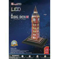 Daron 3D LED Big Ben 28pc Puzzle 3D Jigsaw Puzzle #501h