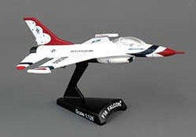 Daron 1/126 F16 Fighting Falcon Thunderbirds Aircraft